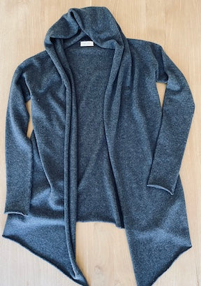 Cashmere & Wool Wrap Cardigan