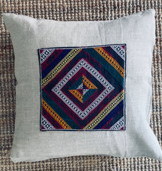 Vintage Tai Dam Pillow