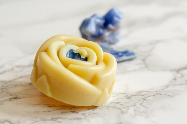kyanite organic lotion bar. crystal
