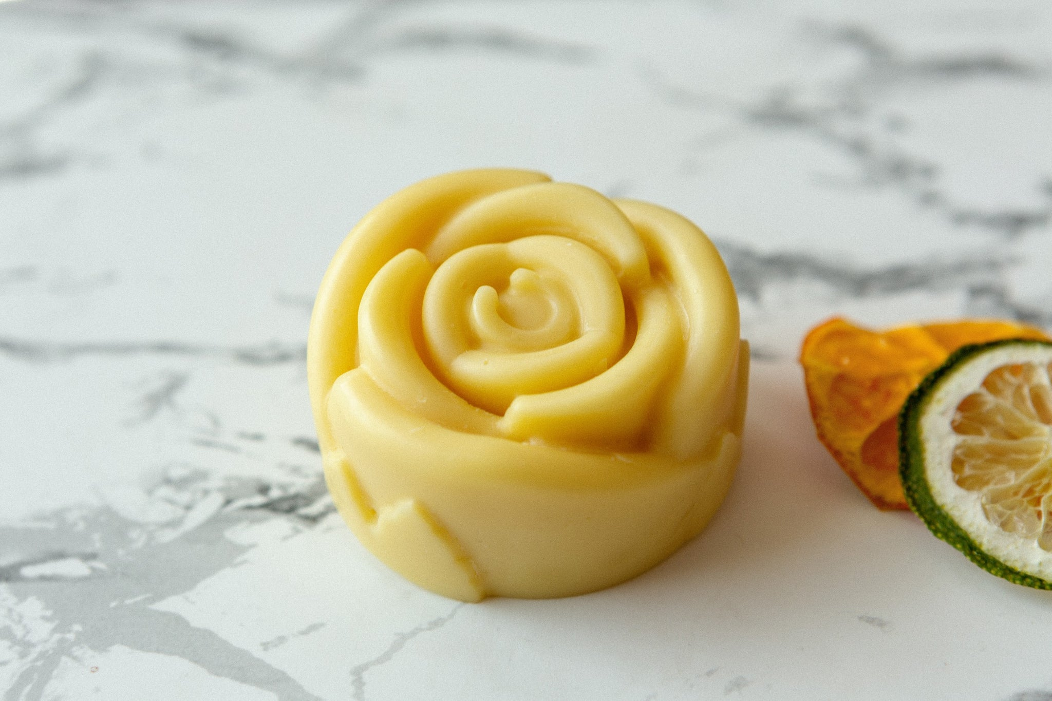 citrus organic lotion bar