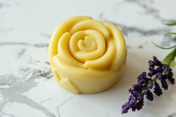 lavender organic lotion bar