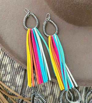 Fringe For Life Earrings (multi)