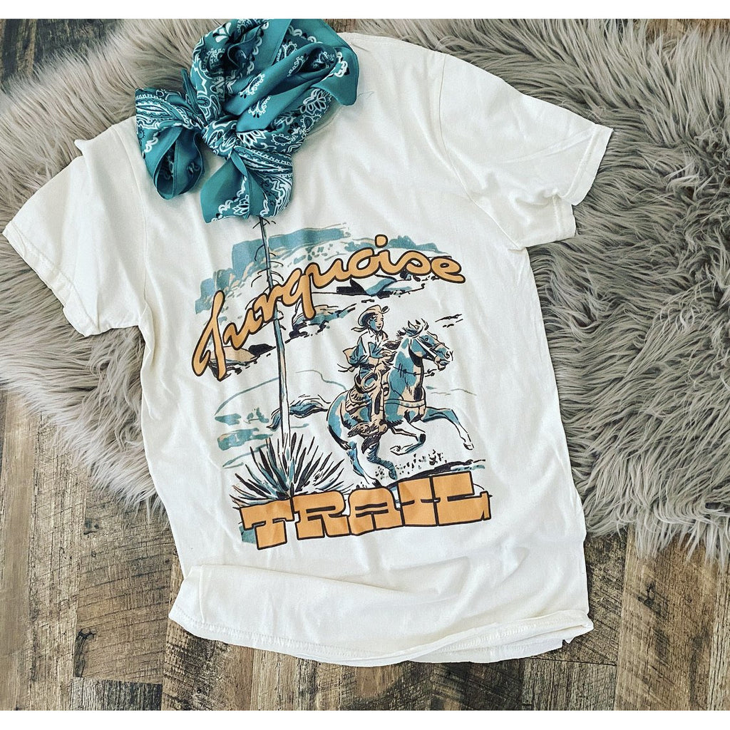 Turquoise Trails Tee