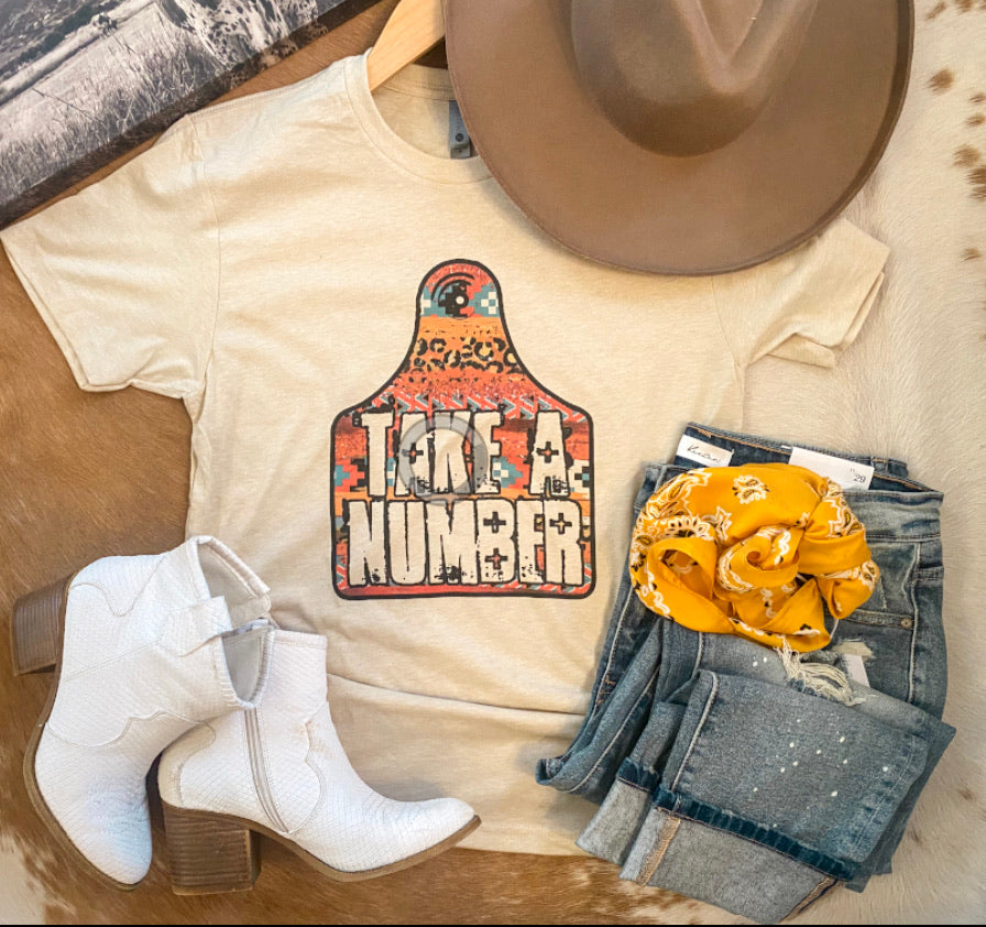 Take A Number Tee