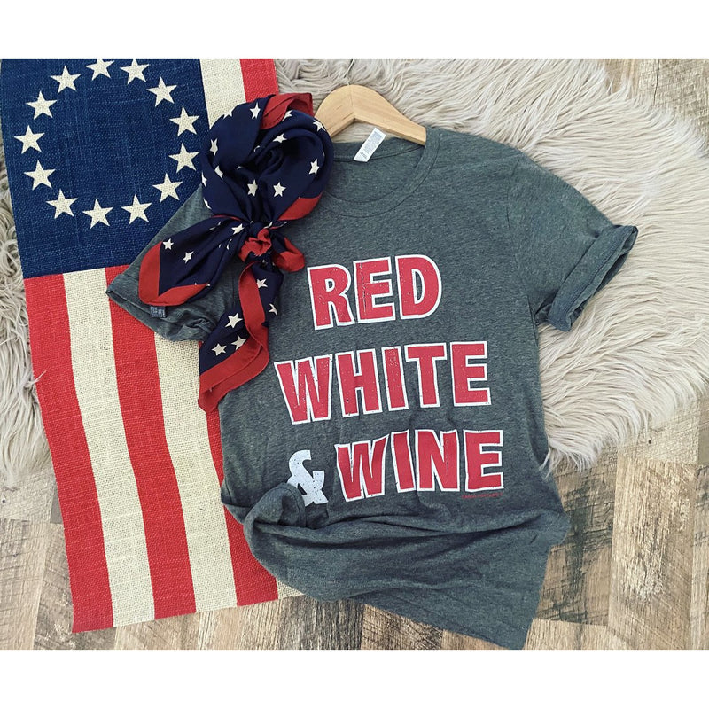 Red, White, & Wine Tee
