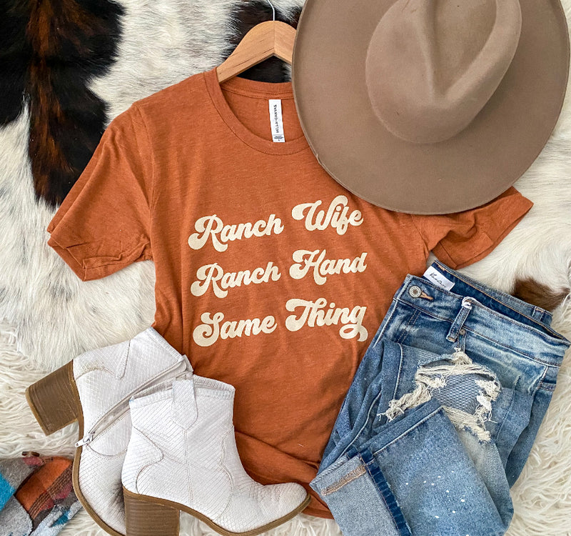 Ranch Wife Life (burnt orange)