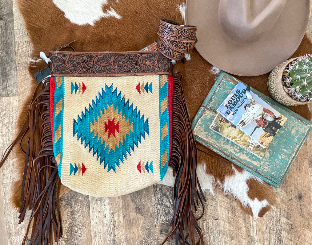 The Cream Thief Style Saddle Blanket Purse