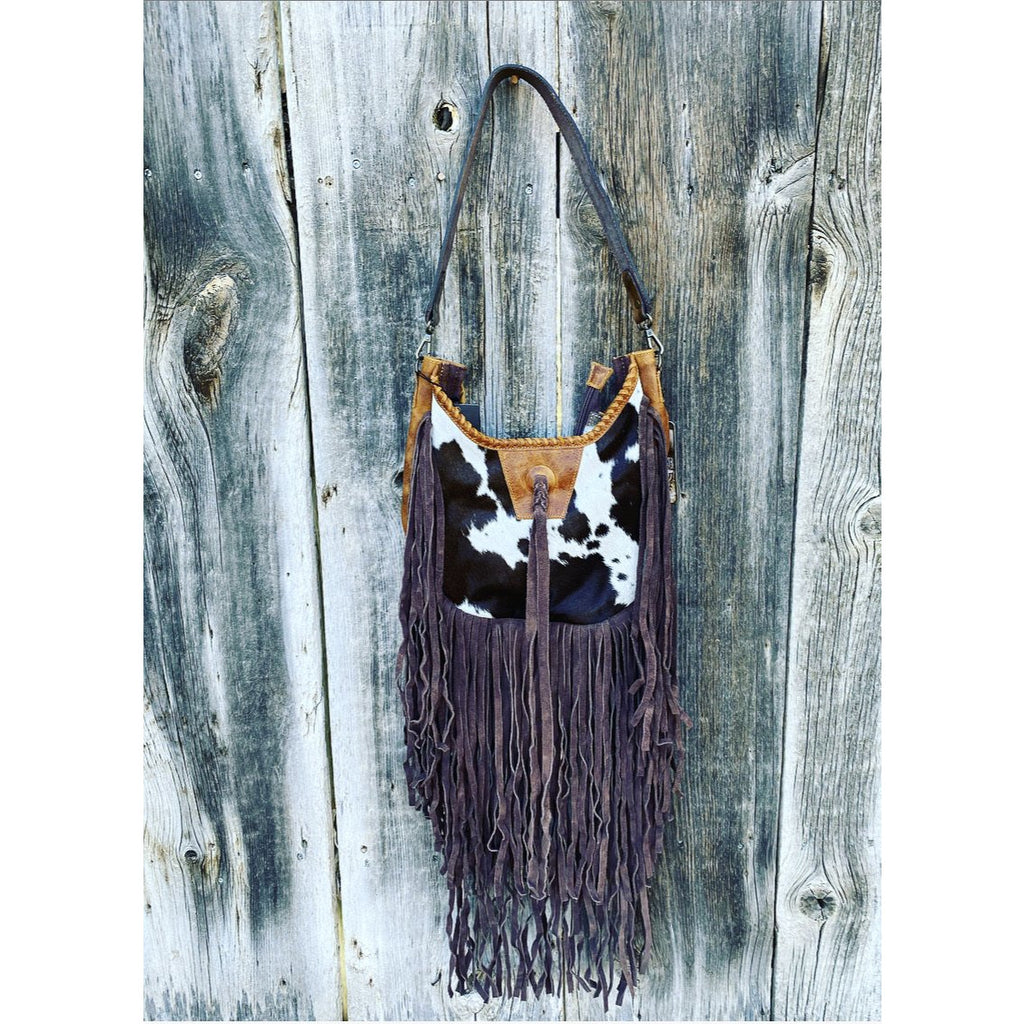 Fringe of the party - purse (camel/brown)