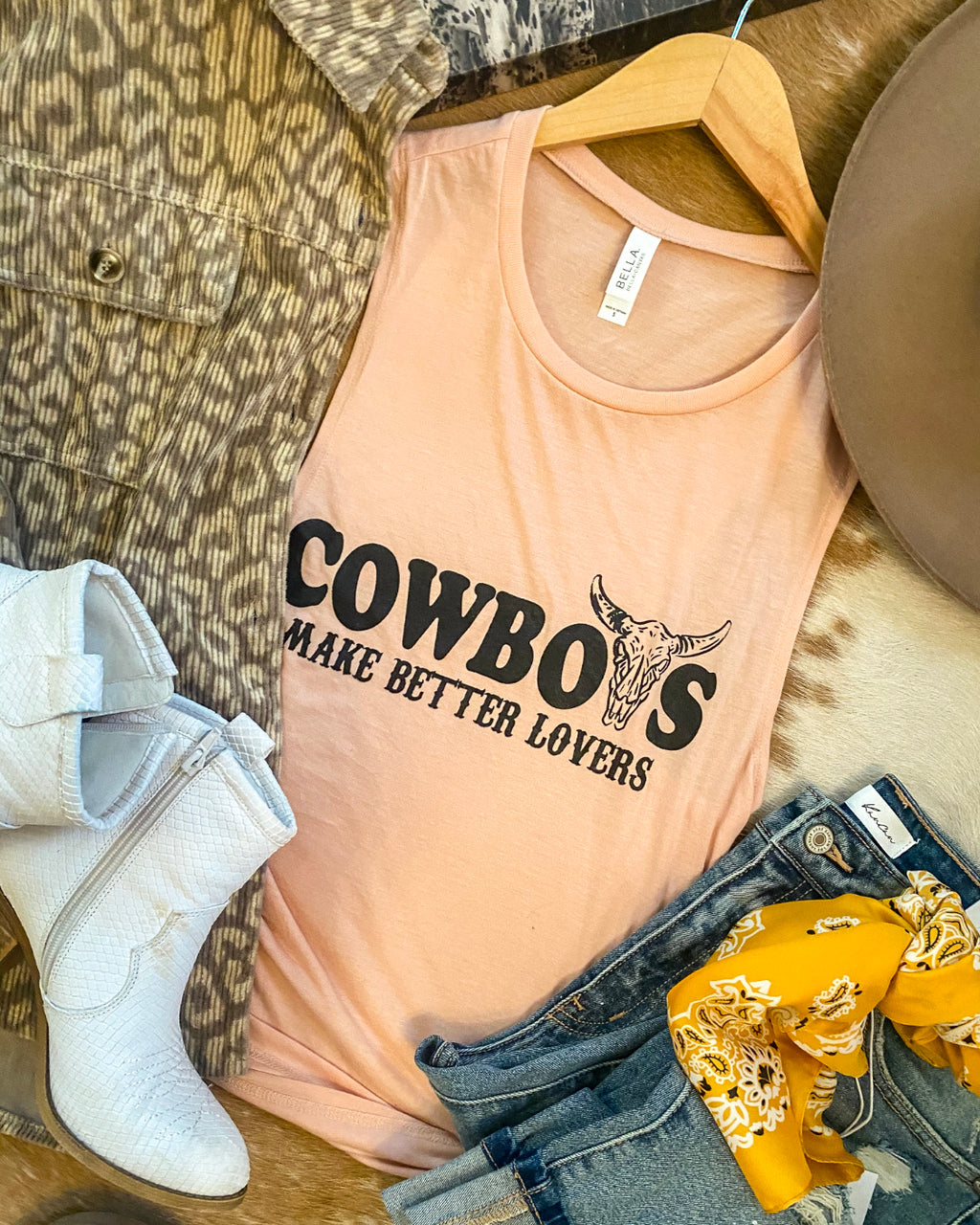 Cowboys Make Better Lovers Tank