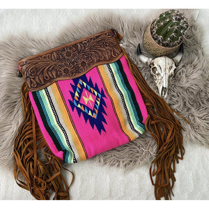 The Cowboy Lady Saddle Blanket Purse