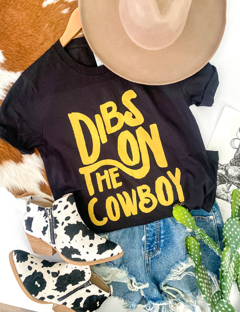 Dibs On Cowboys (black)