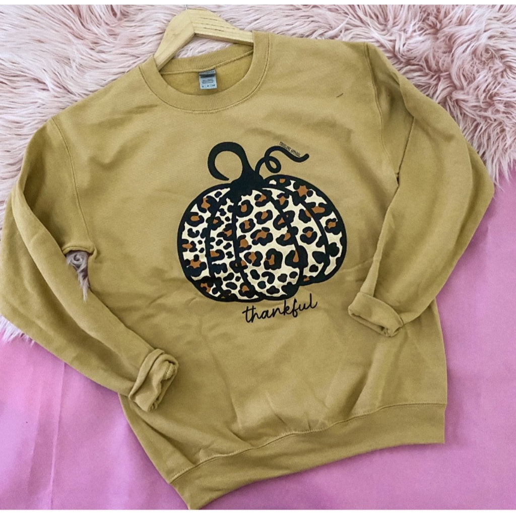 Thankful Pumpkin Sweatshirt