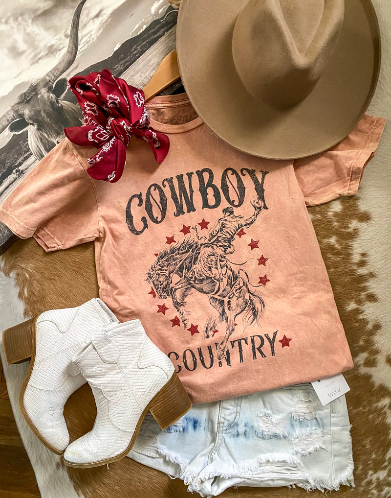 Cowboy Country Tee (rusty)