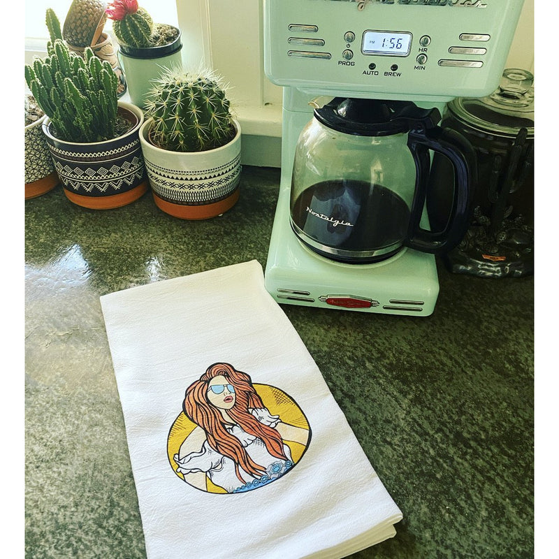 Mom Boss Novelty Dish Towel