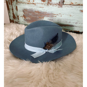 Western Way Hat (slate blue)