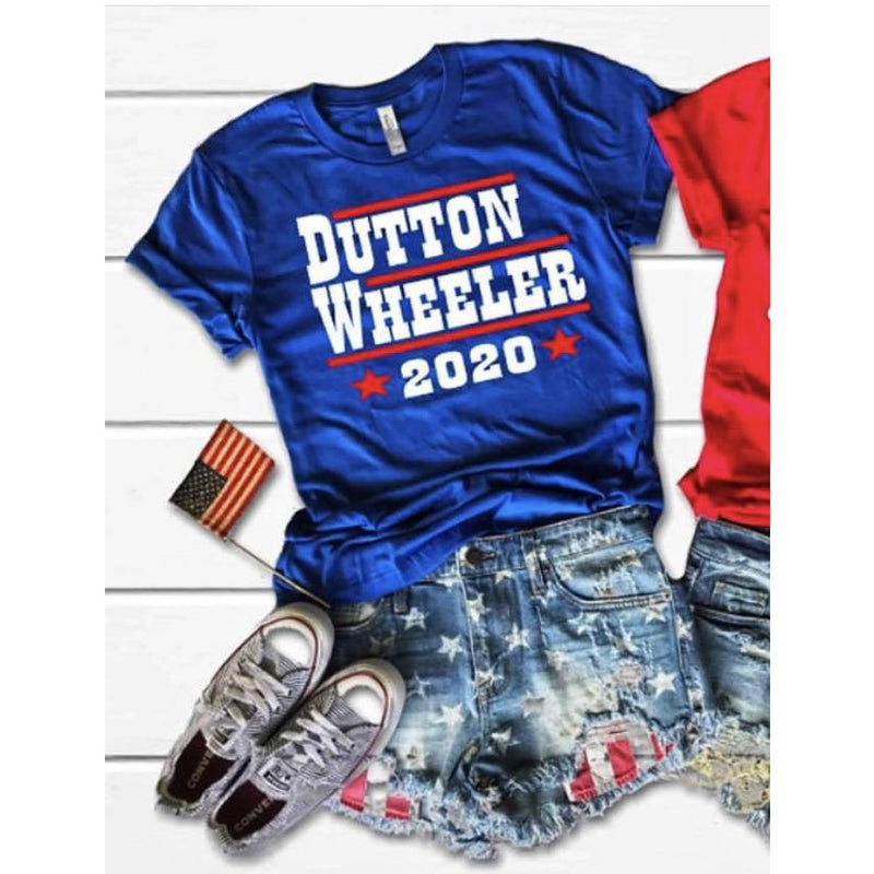Dutton - Wheeler For President Tee