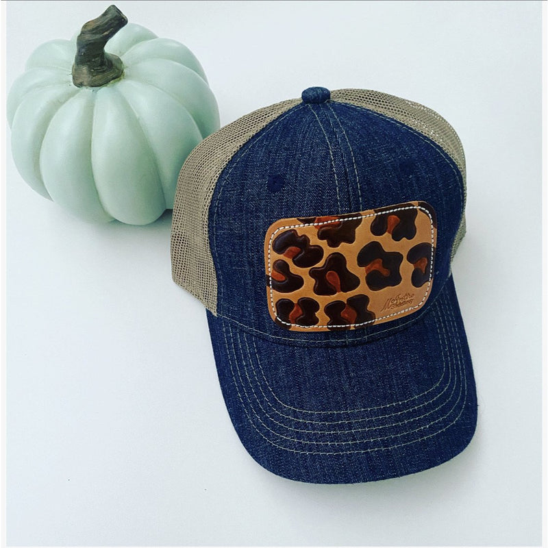 Leopard Patch Hat