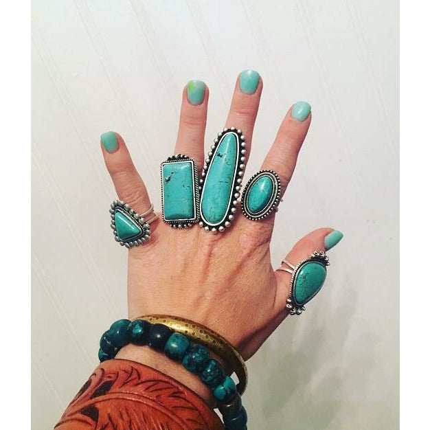 Turquoise Rings Comeback