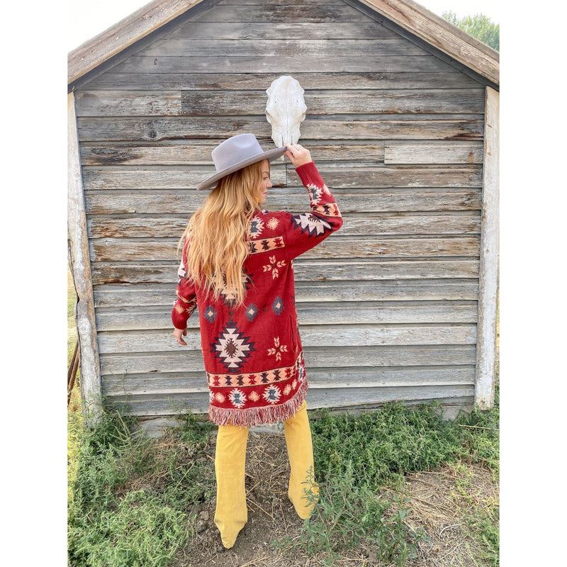 The Wild Bandit Aztec Cardigan