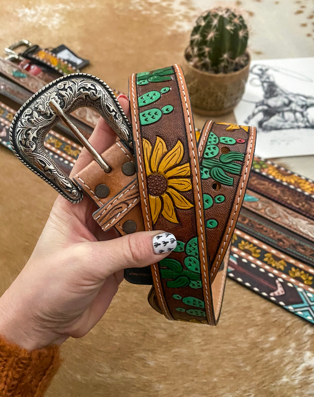 Cactus Desert Days Belt