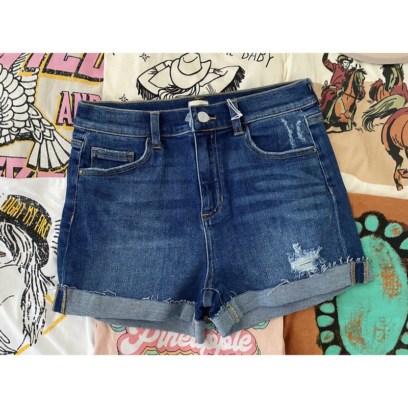 Denim Darlin High Waist Days Shorts
