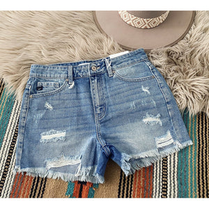 Daddies Girl Distressed Shorts