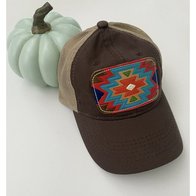 M. Aztec Hat (brown)
