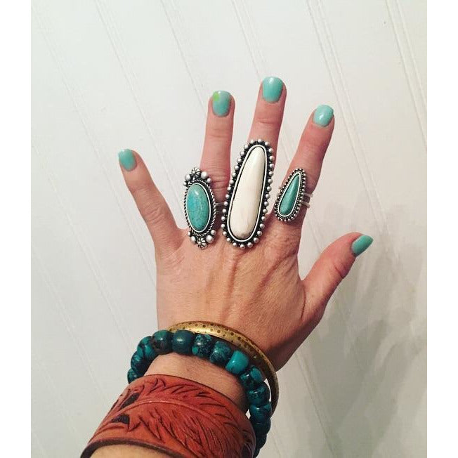 Turquoise Rings - round 3