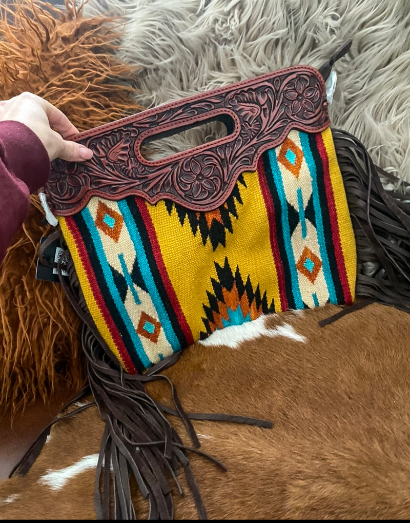 Rough Rider 2.0 Bandit Clutch Style Saddle Blanket Purse