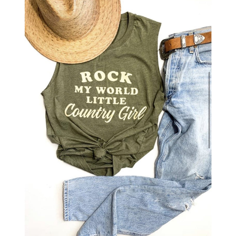 Rock My World Country Girl Tank