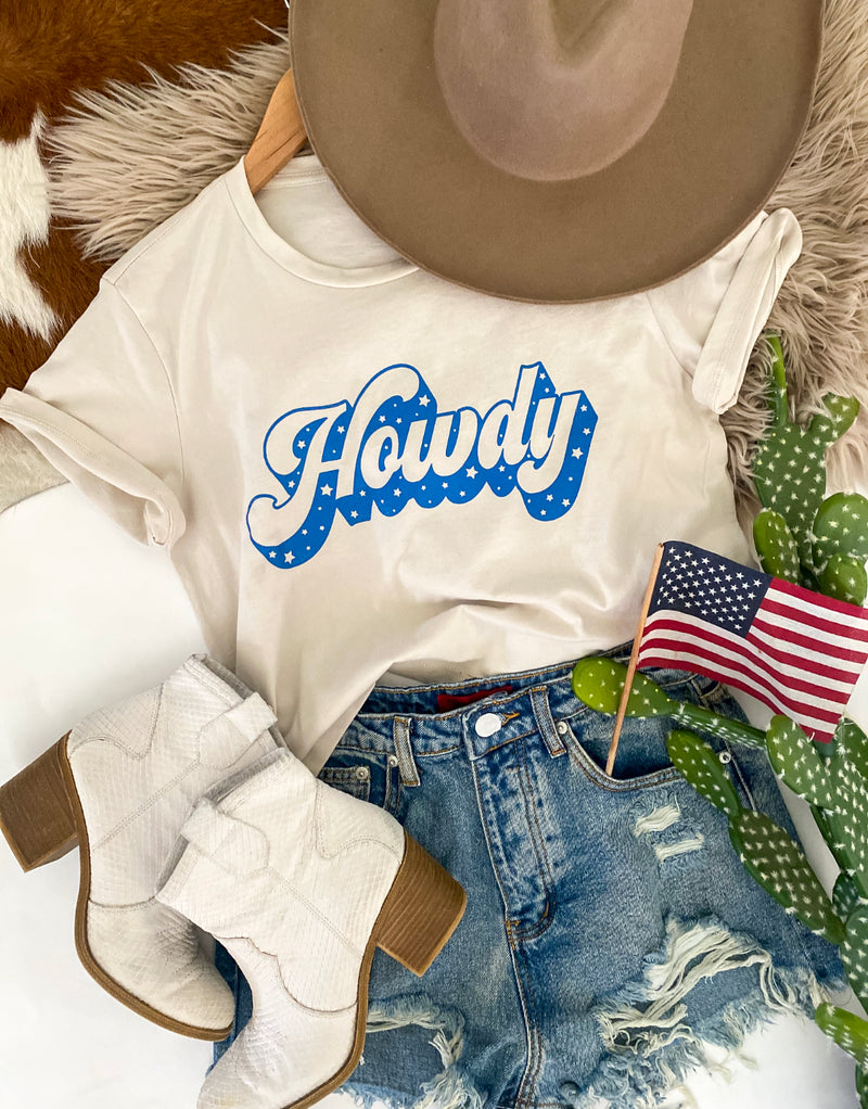 Howdy  (vintage taupe crop)