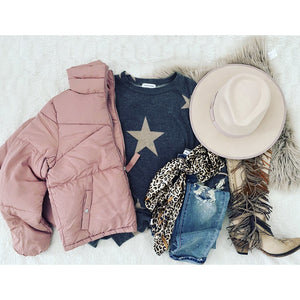 Puff Jacket (Mauve)