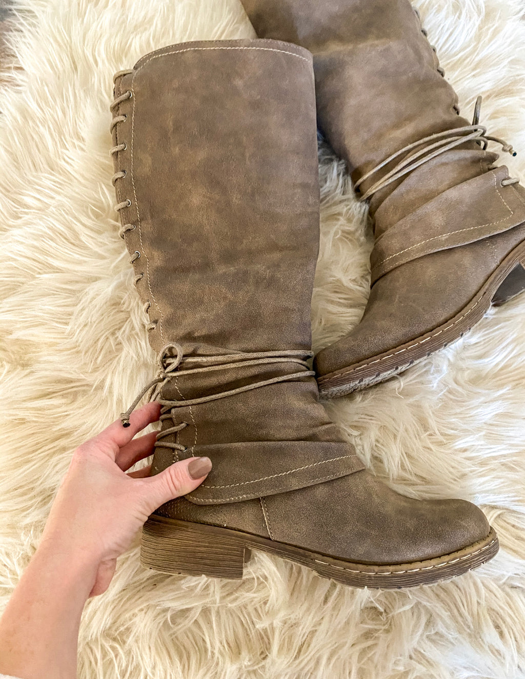City Girl Boot (Rooney) (Taupe)