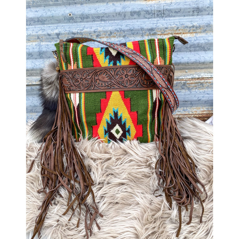 Green Bandit Saddle Blanket Purse