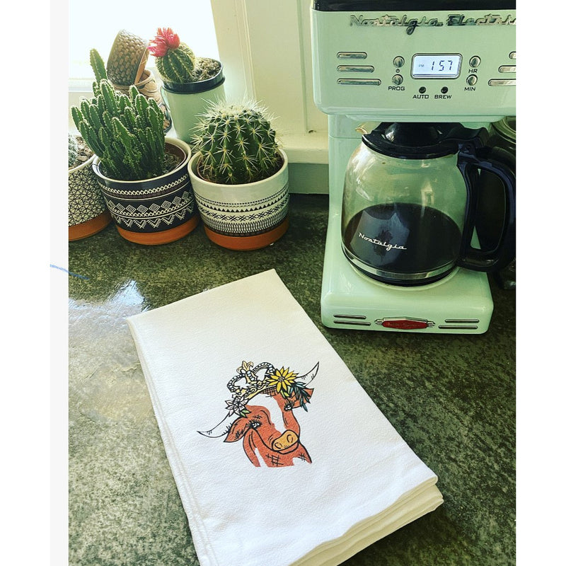 Lady May  Novelty Dish Towel