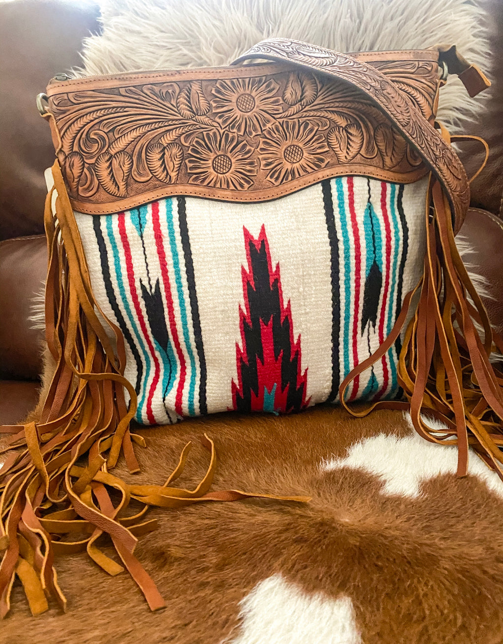 The Wild River Purse (white)