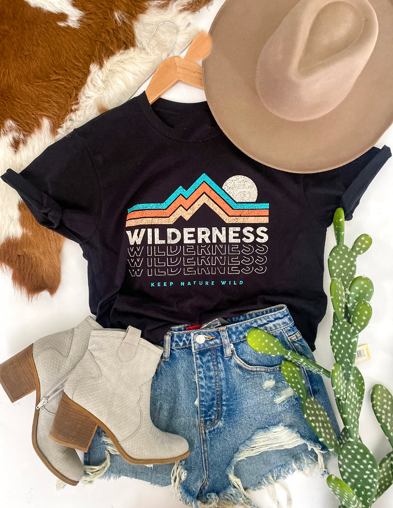 Wilderness Tee ( black )