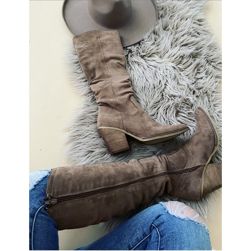 Small Town Saturday Night Boot (Penny - Taupe)
