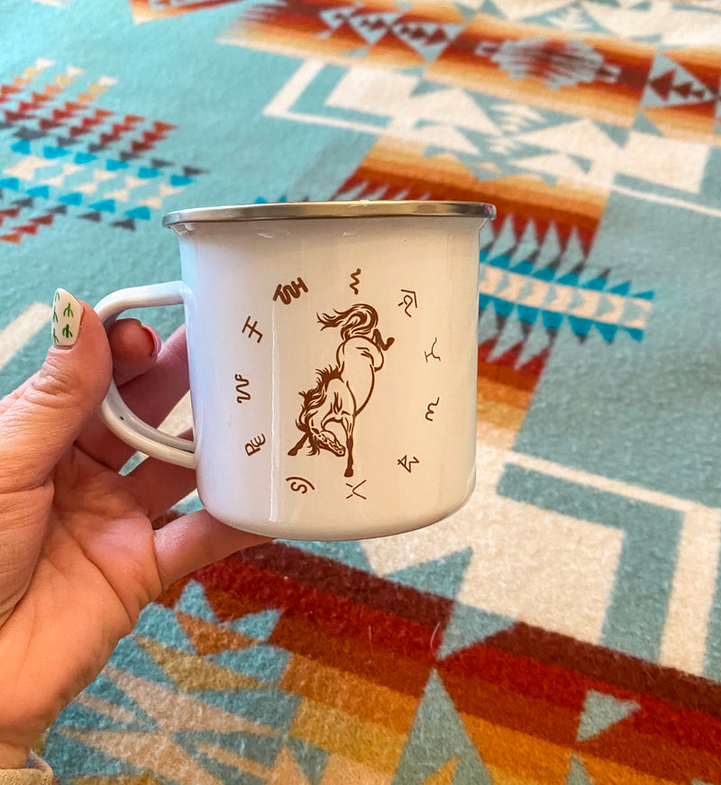 Salty Horse Brands Tin Cup