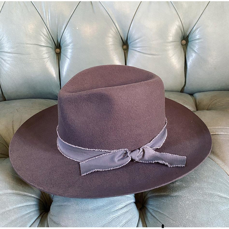 Western Way Hat (charcoal)