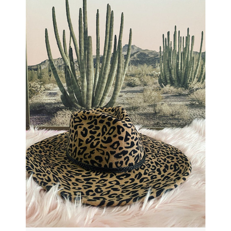 Rebel Child Hat (leopard)