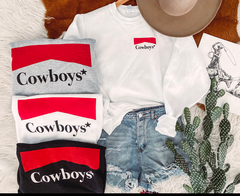 Cowboys Sweatshirt (white)