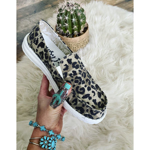 That leopard Sneaker (no tie)