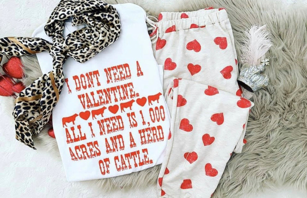 Queen Of Hearts Joggers