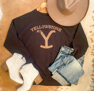Yellowstone Crew Neck Sweatshirt
