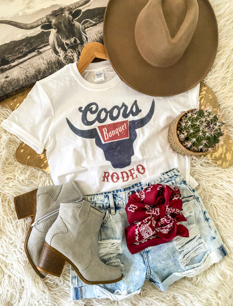 Rodeo Banquet Tee (vintage )