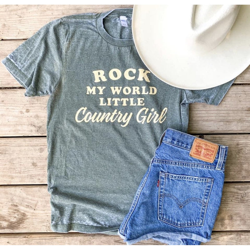 Rock My World Country Girl Tee