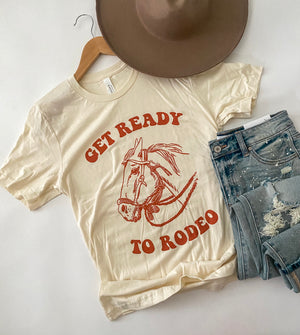 Ready To Rodeo (horse) Tee