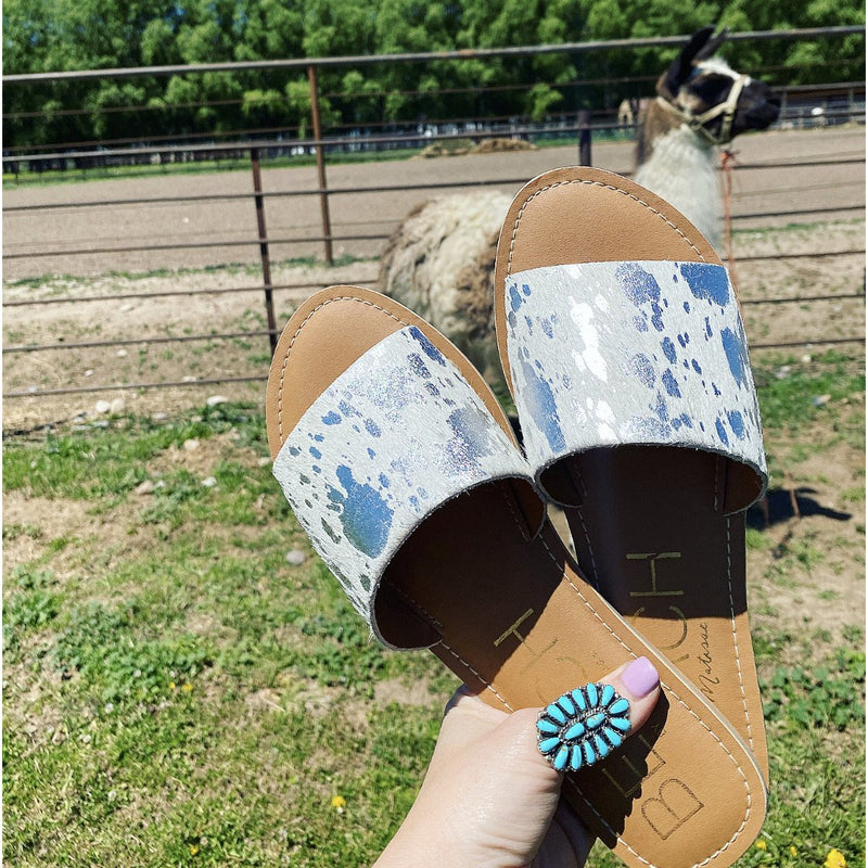 Ultimate Cow Print Sandal Sandals