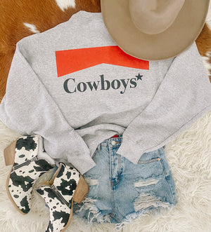 Cowboys Sweatshirt (grey)